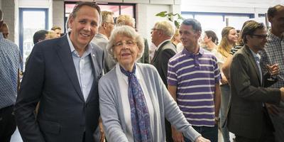 Erik-Jan Worst en moeder Anneke. Foto Jan Willem van Vliet