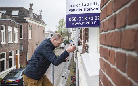 Helft woningen Groningen boven de vraagprijs verkocht