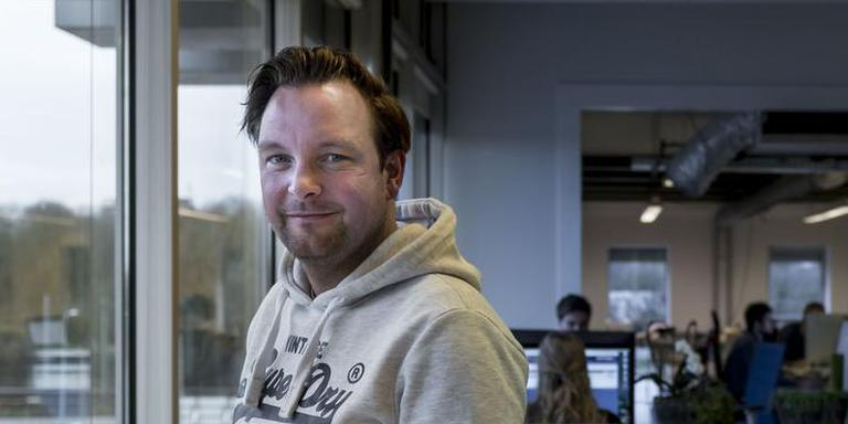 Christian Branbergen van Dataprovider. Foto: Geert Job Sevink
