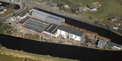 Scheepswerf Pattje in Waterhuizen.