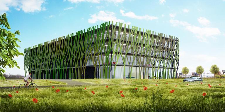 Via het nieuwe datacenter van Bytesnet, op de Zernike Campus, worden in de toekomst mogelijk huizen in Groningen verwarmd.