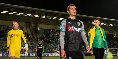 Shirtsponsor Payt van FC Groningen op plek 16 in Fast 50. Foto ANP