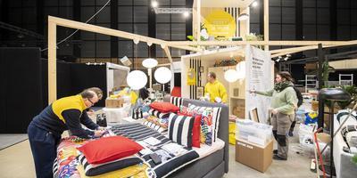 Ook Ikea is aanwezig op de 14de editie van Wonen&Co de beurs, die vandaag in MartiniPlaza van start gaat. Foto: Marcel Juriaan de Jong