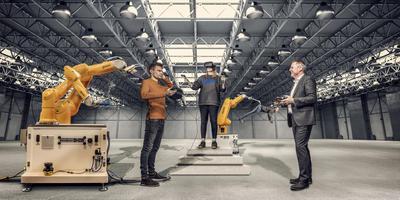 Robots krijgen steeds nadrukkelijker een plek in werkplaatsen.