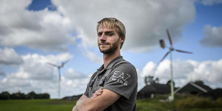 """Aard Duivenvoorden van E.A.Z. Wind: ,,Die eerste windmolen vertelt het verhaal."""""""