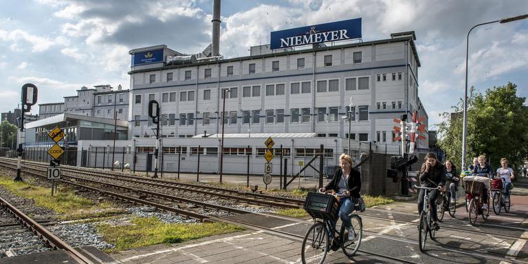 De tabaksfabriek van BAT Niemeyer fabriek in Groningen.