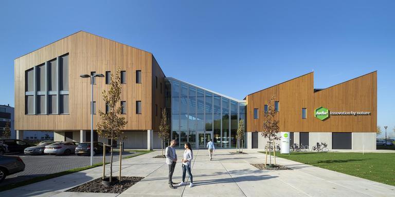Het innovatiecentrum van Avebe op Campus Groningen