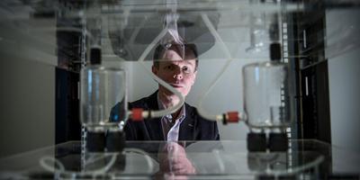 Jan-jaap Aué, directeur EnTranCe: ,,Toepassing van waterstof in een versnelling brengen.''