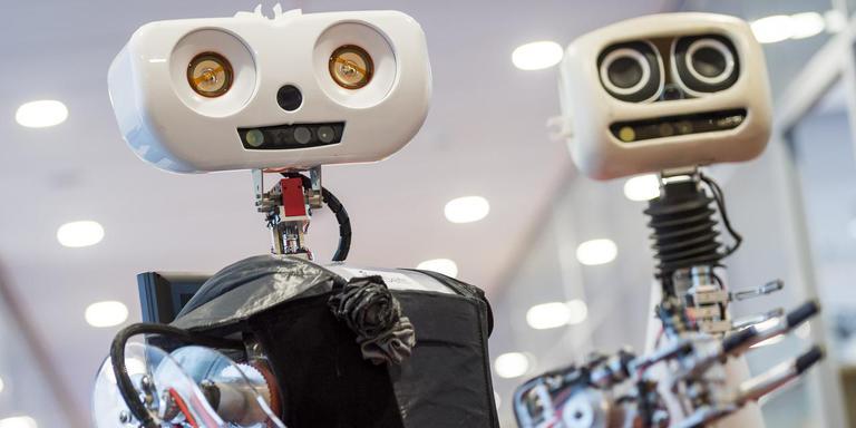 In 2014 werkte Delft Robotics aan een zelflerende zorgrobot. Foto ANP