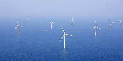 Windturbines. Foto ANP