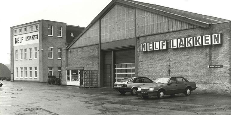 De Nelf-fabriek aan de Paterswoldseweg in 1989. Foto archief DvhN