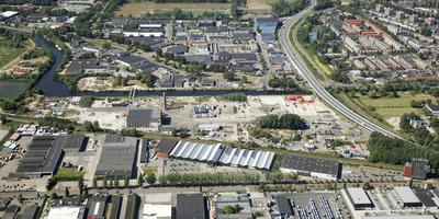 Het Suikerunieterrein in Groningen is van de plekken waar woningen moeten komen. Foto: Aerophoto Eelde