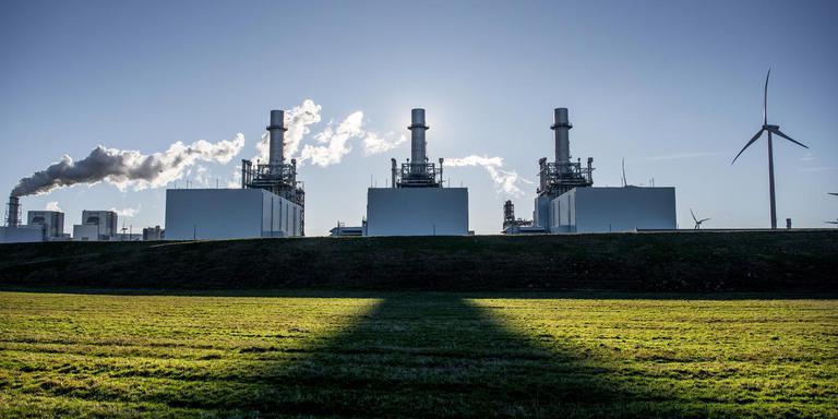 De Magnum-centrale van Nuon in de Eemshaven moet de eerste elektriciteitscentrale met waterstof als brandstof worden.