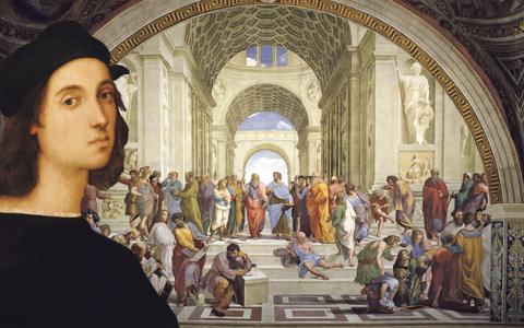 In Beeld: Vandaag 500 jaar geleden stierf Rafaël (op zijn 37ste verjaardag)