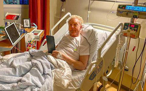 André van Duin geopereerd aan darmkanker: 'Martin hield de boel in de gaten'