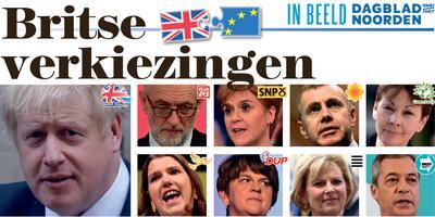 In Beeld: Britse verkiezingen