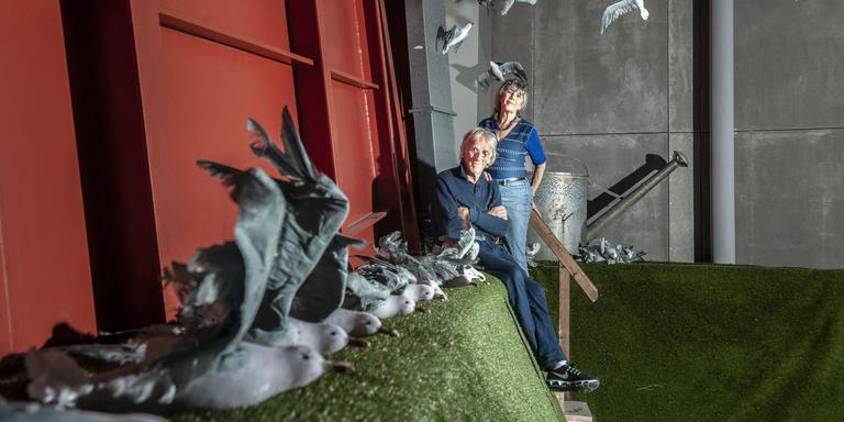 Freek en Hella de Jonge. Foto: Reyer Boxem