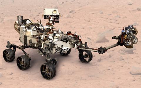 In Beeld: NASA's Marsmissie