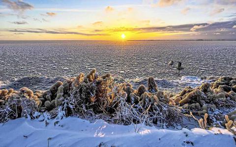 Zo koud wordt het komende dagen. 'IJskoud en zonnig, echt de beste periode om er lekker van te genieten'