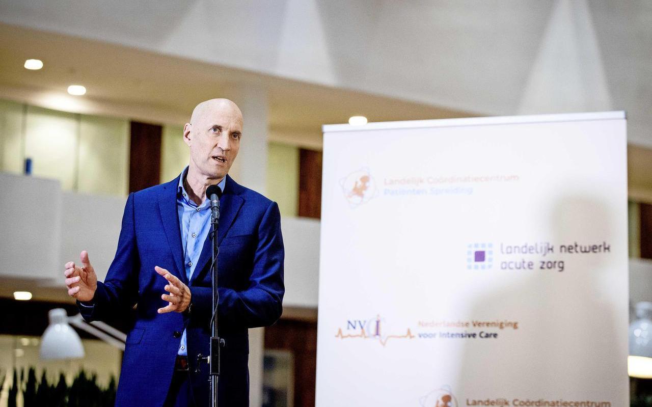 Ernst Kuipers, voorzitter Landelijk Netwerk voor Acute Zorg