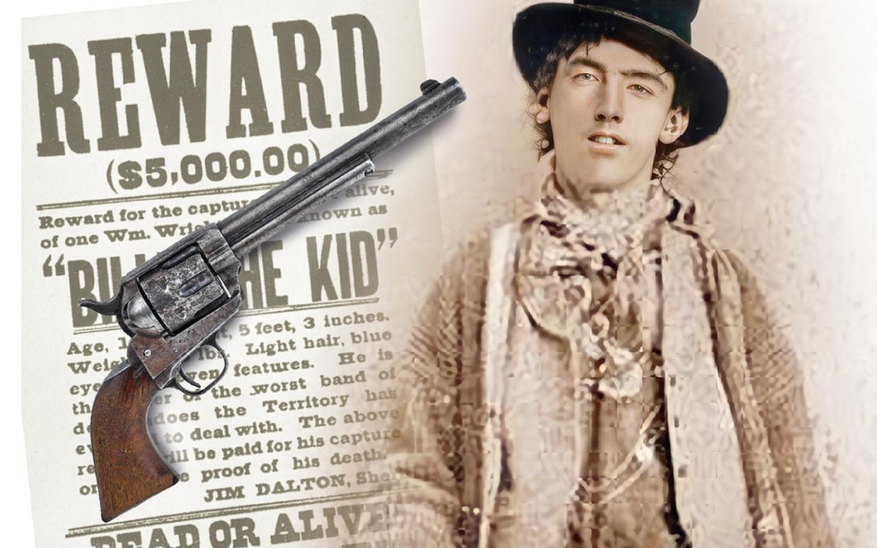 Billy the Kid, zoon van Ierse immigranten.