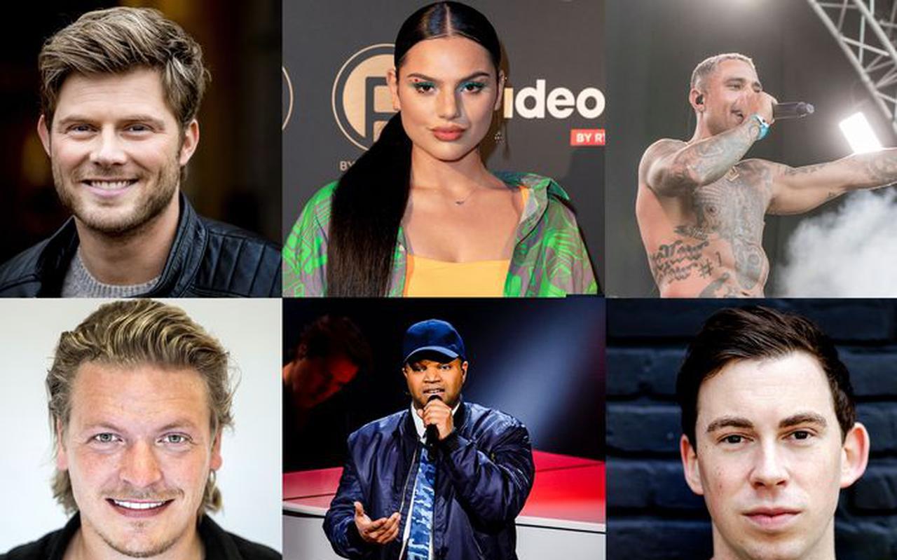 Een aantal van de artiesten die zich afkeert van het coronabeleid, onder de noemer #ikdoenietmeermee.