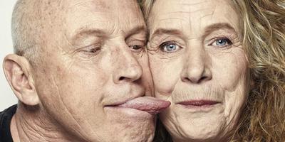 Tosca Niterink (58) en Arjan Ederveen (62). Foto: Manon van der Zwaal