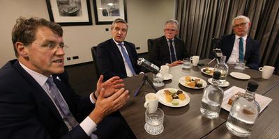 De burgemeesters van Emmen, Leeuwarden, Groningen en Assen hebben hun krachten gebundeld in de noordelijke G4.