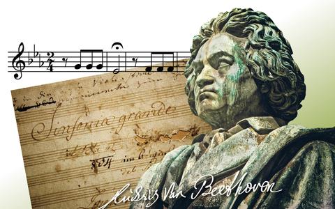In Beeld: Ludwig van Beethoven