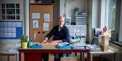 Jelke Hoekstra: ,,Als leraar kun je echt het verschil maken.'' Foto: Corné Sparidaens