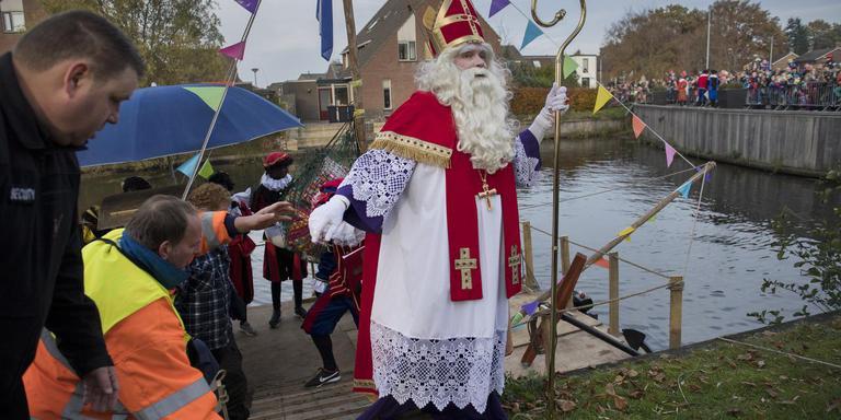 Sinterklaas kwam goed aan wal in Beilen