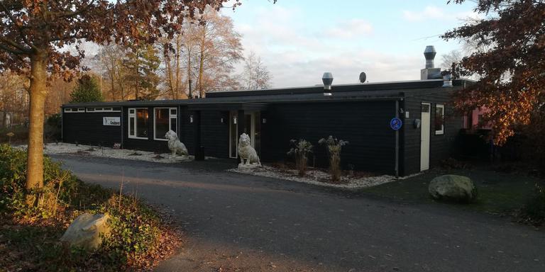 Restaurant Het Goudmeer in de Weperpolder, een beetje afgelegen van de weg tussen Veenhuizen en Oosterwolde.