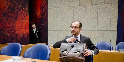 Minister Wiebes zei woensdag in de Kamer dat een generaal pardon voor schade in Groningen onmogelijk is. Foto: ANP/Bart Maat