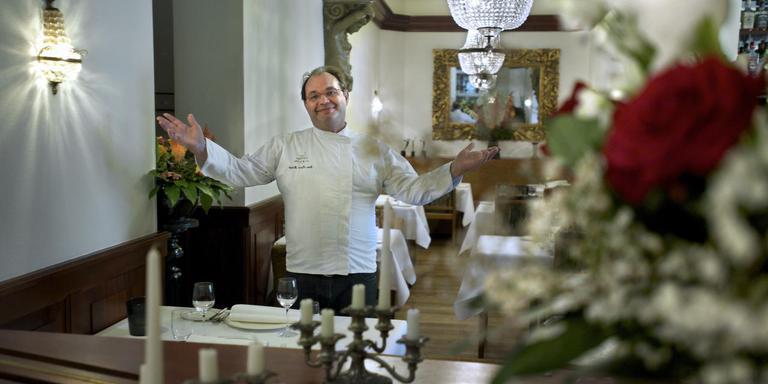 Jean-Michel Hengge van restaurant Muller houdt er mee op. Foto Archief DvhN