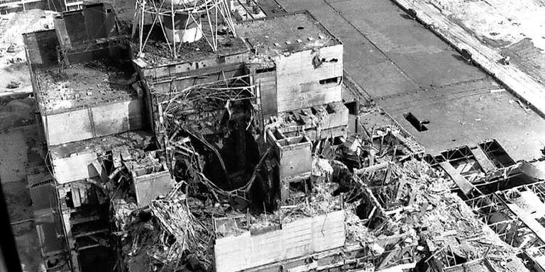 Kernreactor vier Tsjernobyl FOTO AP