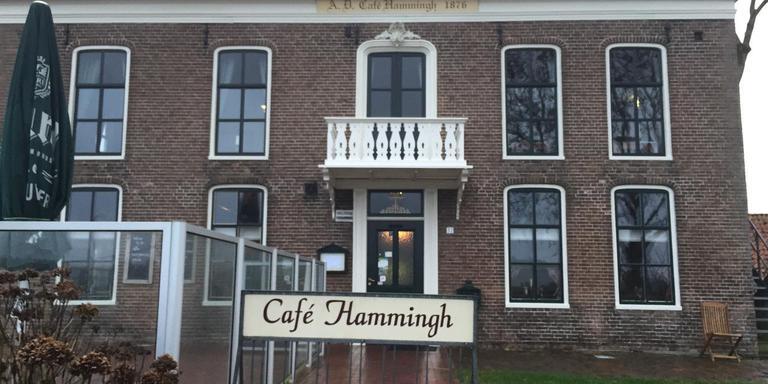 Café-restaurant Hammingh aan het Reitdiep in Garnwerd krijgt binnenkort zo goed als zeker een nieuwe exploitant. Foto DvhN