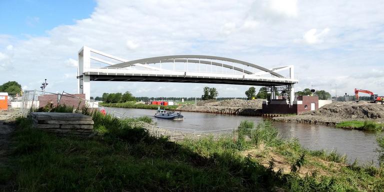 De brug bij Dorkwerd. Foto: Jan Berends