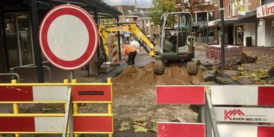 De Kerkstraat in Veendam. Foto DvhN