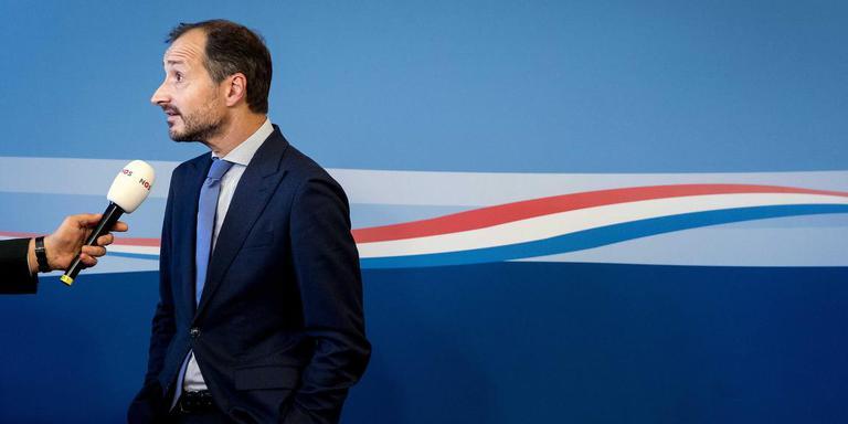 Minister Eric Wiebes van Economische Zaken en Klimaat vrijdag in Den Haag. Foto: ANP