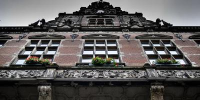 Het Academiegebouw van de Rijksuniversiteit Groningen. Foto: DvhN/Corné Sparidaens