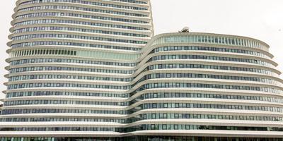 Het gebouw van DUO in Groningen. Foto DvhN
