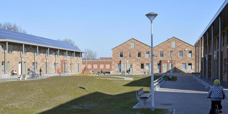 Het asielcentrum van Ter Apel. Een klein aantal bewoners daarvan veroorzaakt overlast in het grensdorp