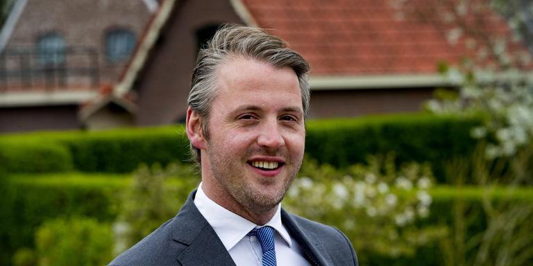 Floris Müller (38) van het Republikeinse Genootschap. Foto: Pim Ras.