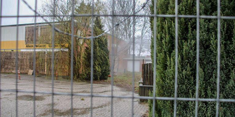 Brand in pand voormalige beddenwinkel Winschoten. Foto: 112Groningen/Marc Zijlstra
