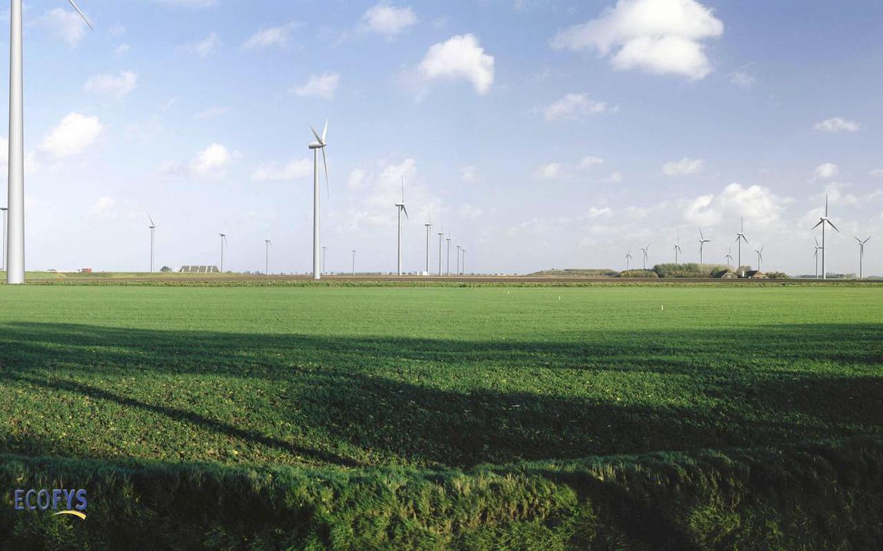 Ten zuiden van het Windpark Delfzijl-Zuid groeit het verzet tegen de uitbreidingsplannen.
