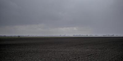 Zicht over de Veenkoloniën. FOTO JAN ZEEMAN