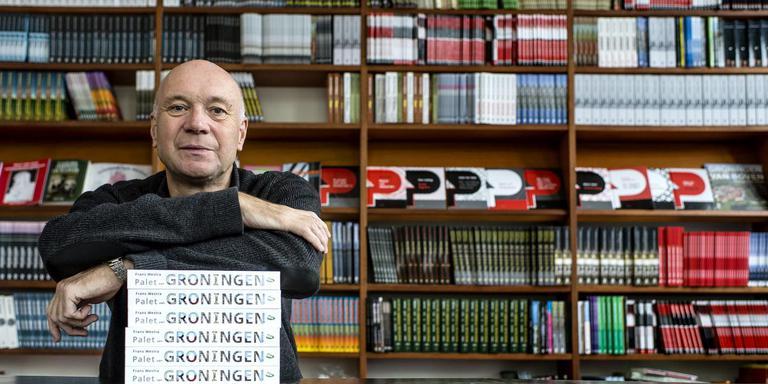 Uitgever Anton Scheepstra. Foto: Duncan Wijting