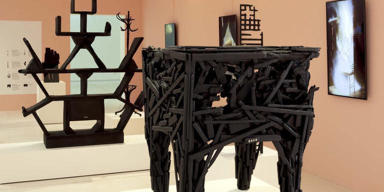Tentoonstelling van werk van Maarten Baas in Gent.