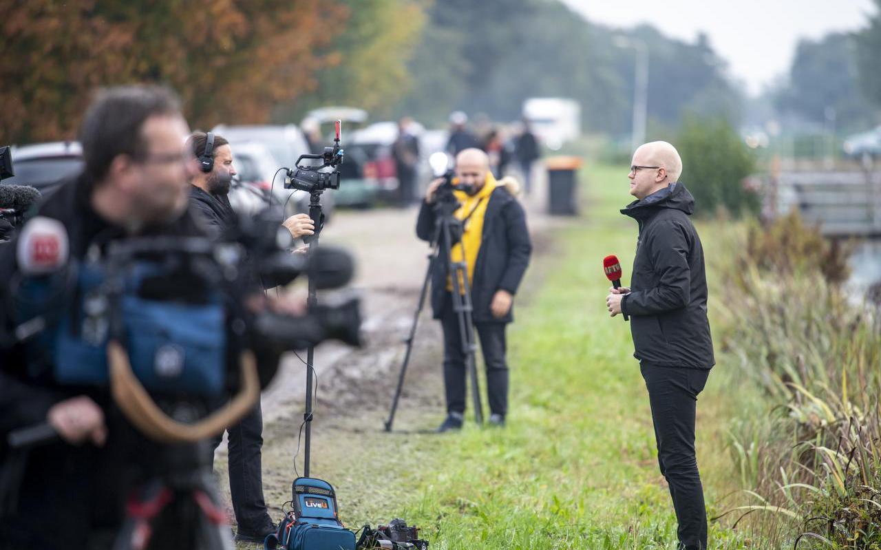 Media uit binnen- en buitenland besteedden aandacht aan het afgezonderde gezin in Ruinerwold.