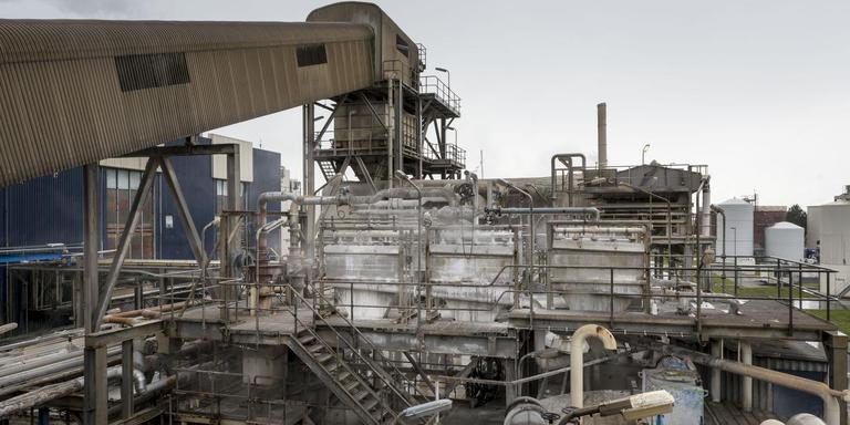De magnesiumzoutfabriek van Nedmag in Veendam. Foto: Archief DvhN